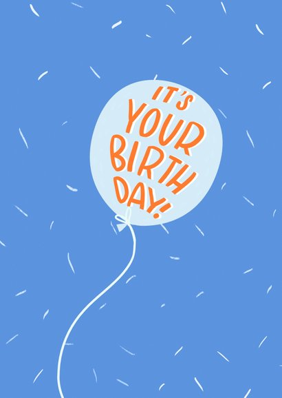 Verjaardag Yay it's your Birthday Tijger 2