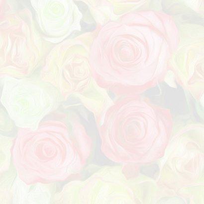 Verjaardagkaart lint en rozen 2