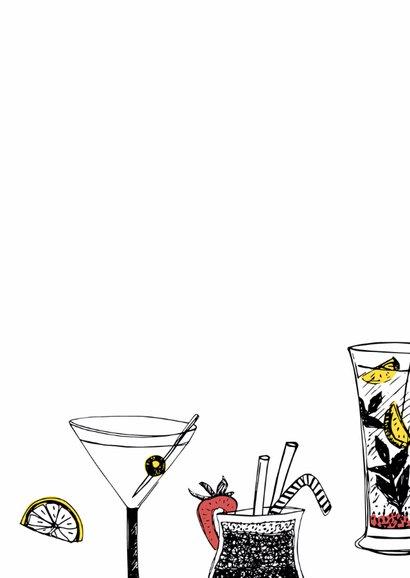 Verjaardagsfeest cocktails krijt 3