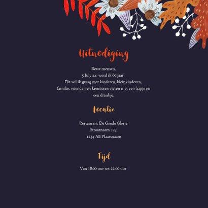 Verjaardagsfeest herfstbladeren 3