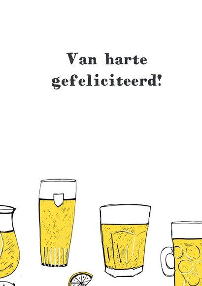 Verjaardagskaart 18 jaar bier 3