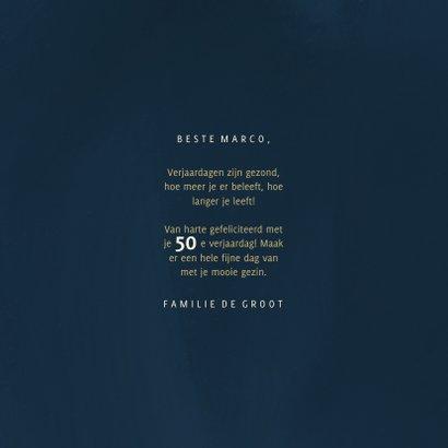 Verjaardagskaart 50 geometrisch hoera 3