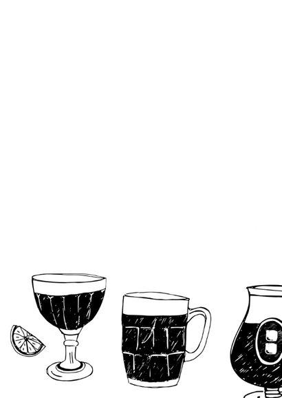 Verjaardagskaart biertjes  2