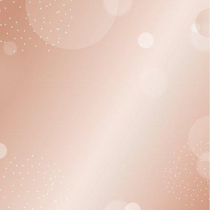 Verjaardagskaart birthday girl in mooie blush kleur 2