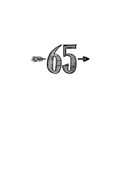 Verjaardagskaart born in 1955 - 65 years of being fabulous 3