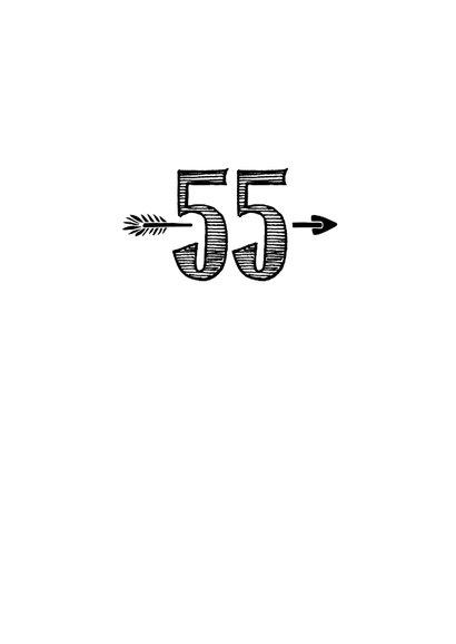 Verjaardagskaart born in 1965 - 55 years of being fabulous 3