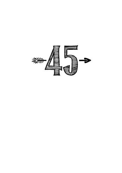 Verjaardagskaart born in 1974 - 45 years of being fabulous 3