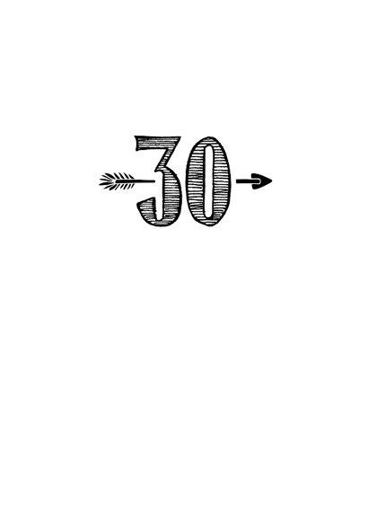 Verjaardagskaart born in 1990 - 30 years of being fabulous 3