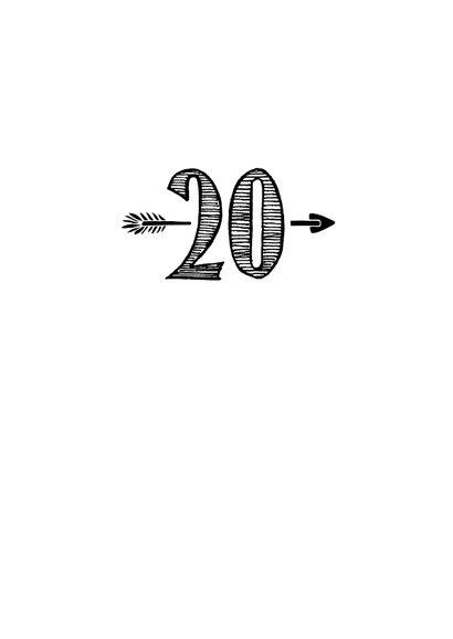 Verjaardagskaart born in 2000- 20 years of being fabulous 3