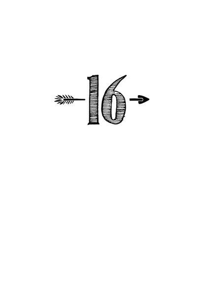 Verjaardagskaart born in 2003 - 16 years of being fabulous 3