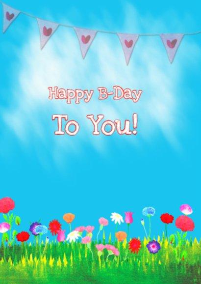 Verjaardagskaart Champie PA 2