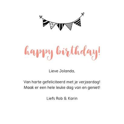 Verjaardagskaart - Cheers to 50 years! 3