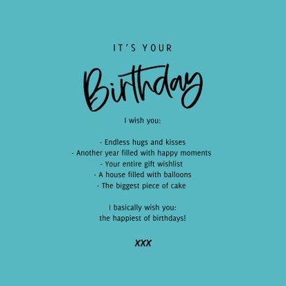 Verjaardagskaart cheers to you confetti foto 3