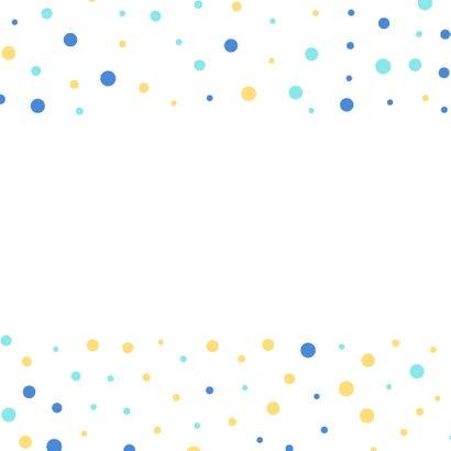 Verjaardagskaart confetti vriend 2
