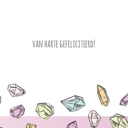 Verjaardagskaart diamanten 3