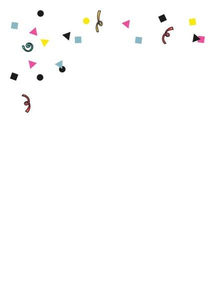 Verjaardagskaart draak meisje illustratie 2