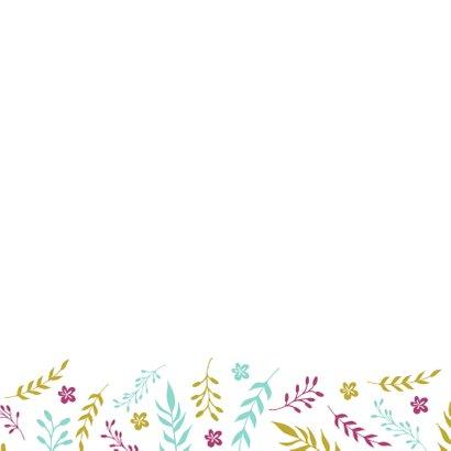 Verjaardagskaart Floral 2