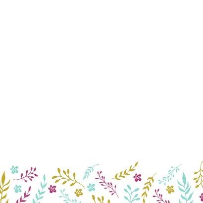 Verjaardagskaart Floral 3