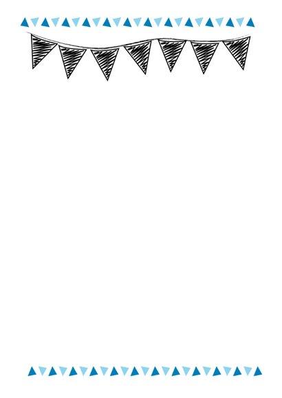 Verjaardagskaart grafisch met eigen leeftijd en naam  2