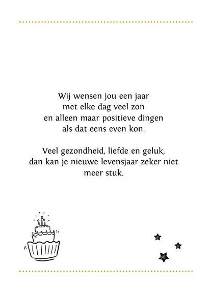 Verjaardagskaart handlettering illustraties  3