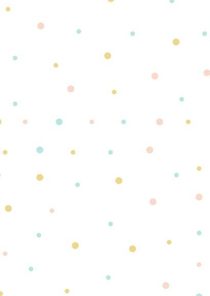Verjaardagskaart happy dots 2