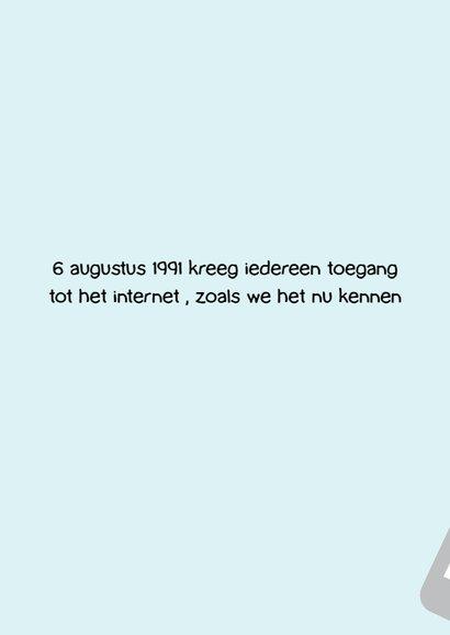 Verjaardagskaart internet quote 2