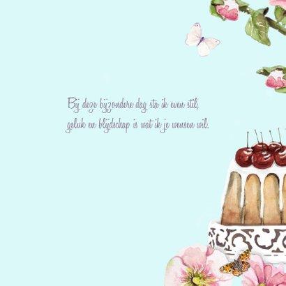 Verjaardagskaart Kersentaart 3