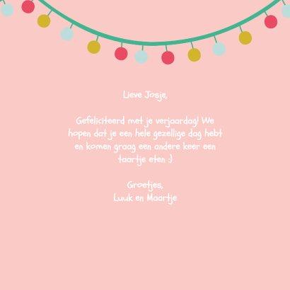 Verjaardagskaart kind - Gefeliciteerd 3