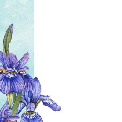 Verjaardagskaart Lisse in aquarel 2