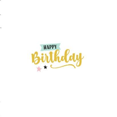 Verjaardagskaart magical day 3