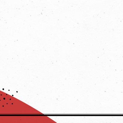 Verjaardagskaart man hip typografie stoer snor 2