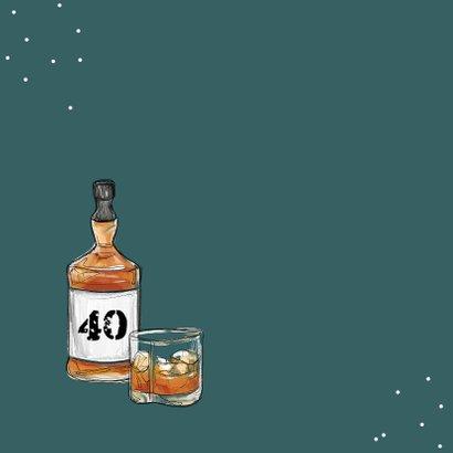 Verjaardagskaart man whisky drank chille verjaardag 2