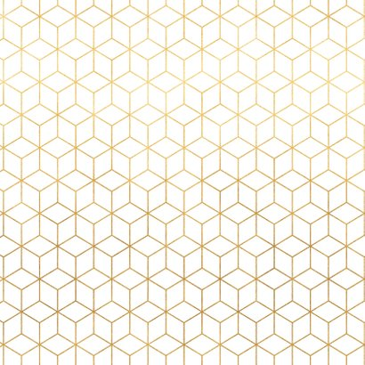Verjaardagskaart met geometrische vormen 2