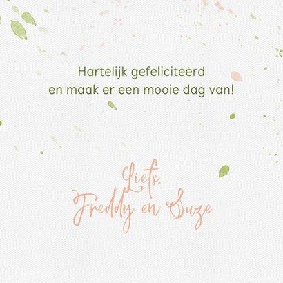 Verjaardagskaart met grote groene kikker 3