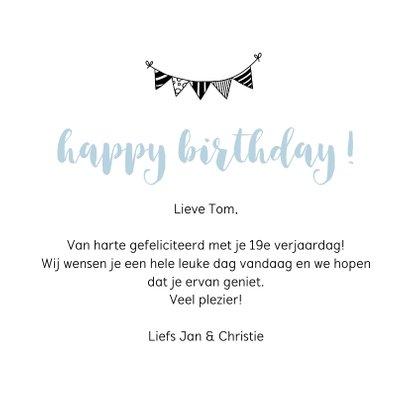 Verjaardagskaart - Met jou is het altijd feest 3