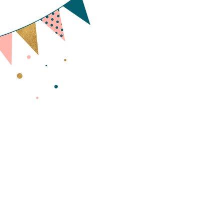 Verjaardagskaart met vlagjes 2