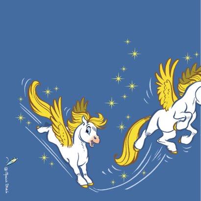 Verjaardagskaart paard Florian - A 2