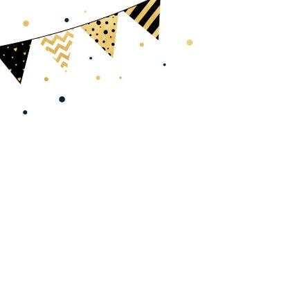Verjaardagskaart party banner 2