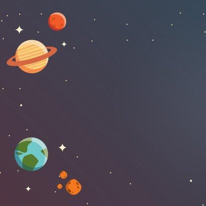 Verjaardagskaart planeten 2