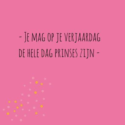 verjaardagskaart - prinses - MG 2