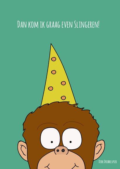 Verjaardagskaart slingeren met dat feestje! 2