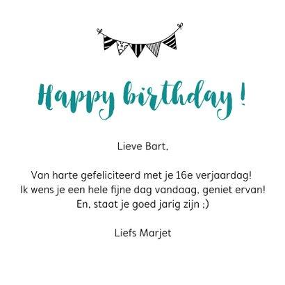 Verjaardagskaart - Staat je goed jarig zijn 3