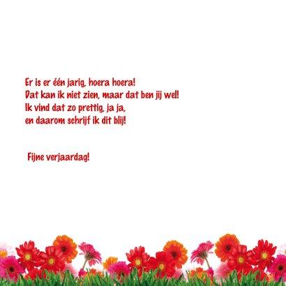 verjaardagskaart struisvogel 3