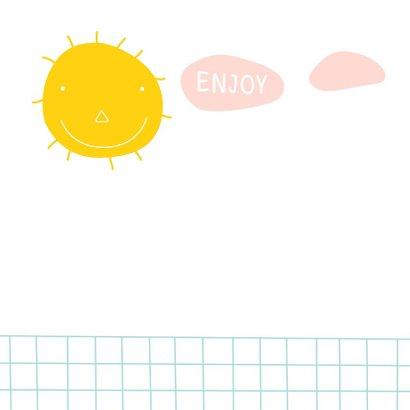 Verjaardagskaart sunny day 2