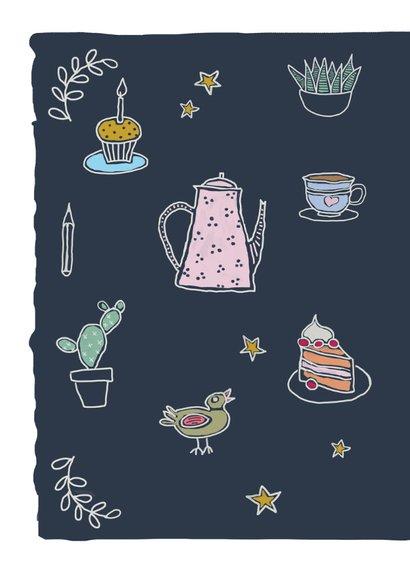 Verjaardagskaart - Tea time birthday 2