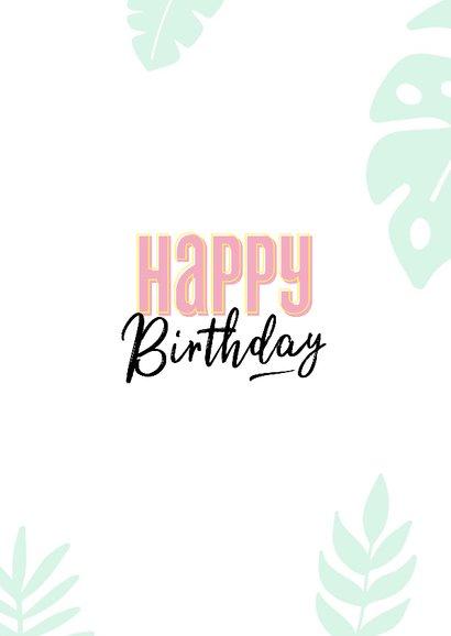 Verjaardagskaart today is your day 3