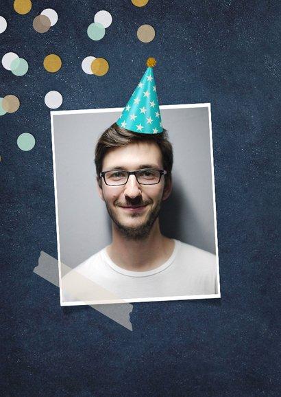 Verjaardagskaart - wist zelfs zonder social media verjaardag 2