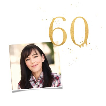 Verjaardagskaart zestig goud 2