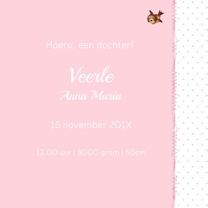 Vintage Geboortekaarje Hertje Veerle 3
