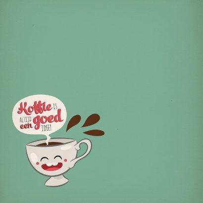 Vriendschap koffie kopje 2